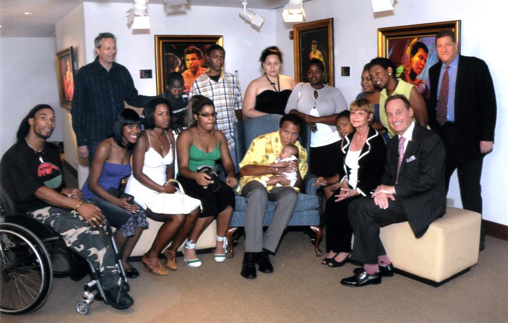 Park West Gallery, Park West Foundation, Albert and Mitsie Scaglione, Muhammad Ali, Simon Bull