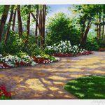 """Beautiful Walkway"" by Schaefer/Miles, Park West Gallery"