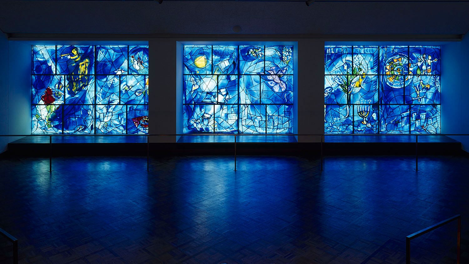 marc chagall 39 s america windows reopen to the public park. Black Bedroom Furniture Sets. Home Design Ideas