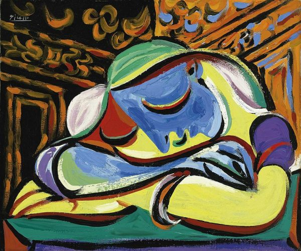 jeune-fille-endormie-pablo-picasso, albert scaglione, park west gallery