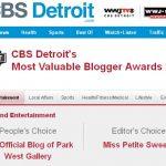 CBS Detroit's Most Valuable Blogger Awards 2011, park west gallery