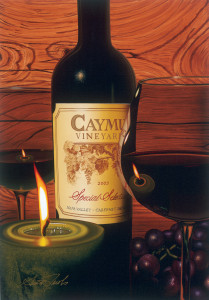 Jacobs, Scott. Caymus by Candlelight. 2006. Park West Gallery Collection.