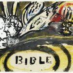 """""""Projet de couverture non-utilisee; Bible"""" (1956), Marc Chagall, Park West Gallery"""