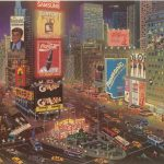 Times Square, Alexander Chen, Park West Gallery Collection