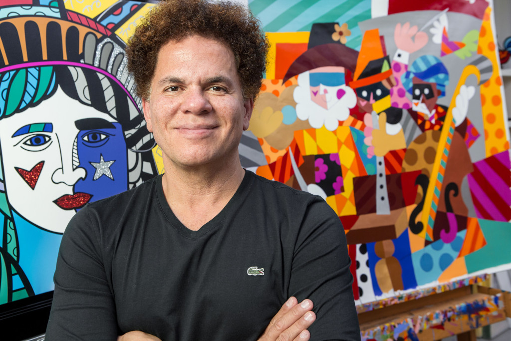 Romero Britto is on the Best Buddies Board of Directors.