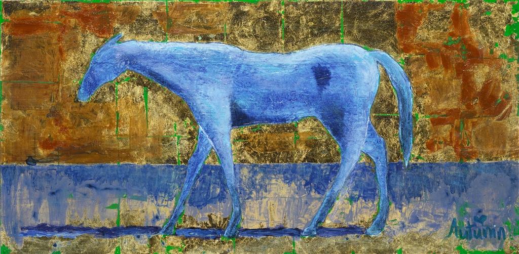 """""""Gold Horse"""" (2014), Autumn de Forest"""