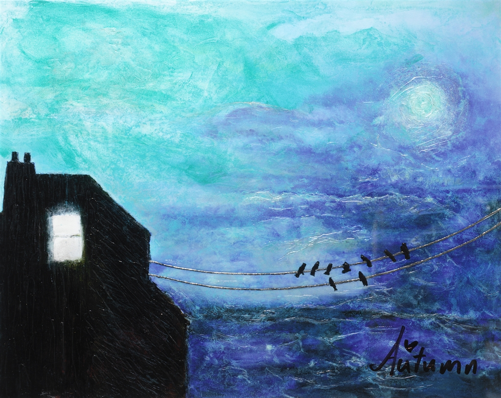"""Goodnight Moon"" (2014), Autumn de Forest"