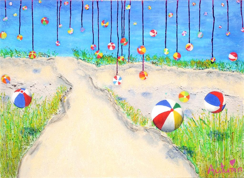 """""""Dripping Summer"""" (2015), Autumn de Forest"""