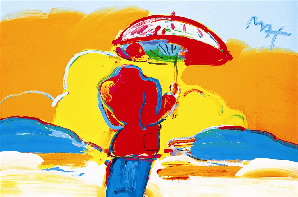 """Umbrella Man at Sea"" (2006)"