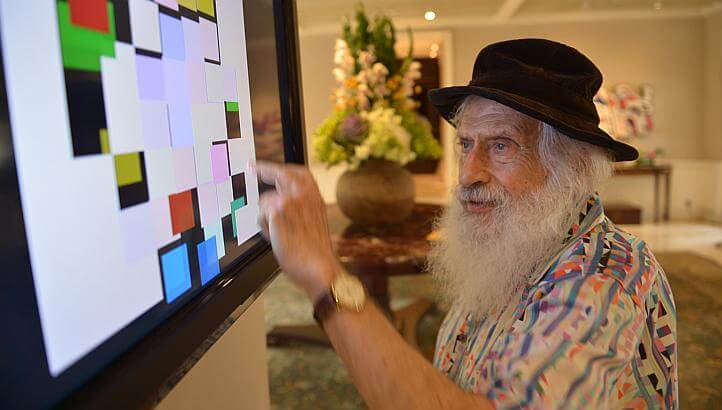 Yaacov Agam was named one of the 100 people positively affecting the Jewish world by Algemeiner newspaper.