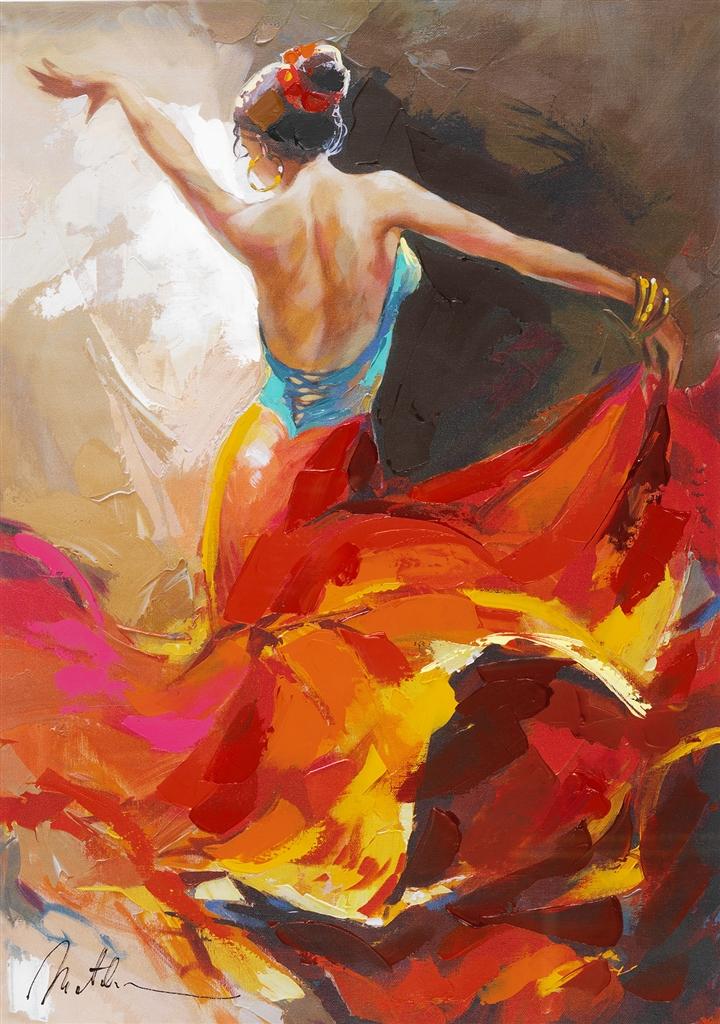 """""""Flamenco Dancer"""" (2014), Anatoly Metlan"""