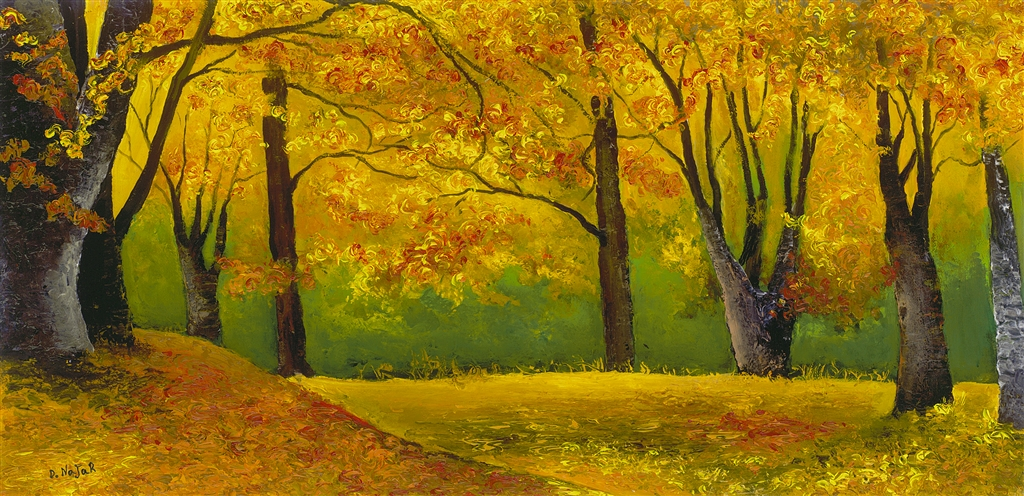 """Start of Fall"" (2014), David Najar"