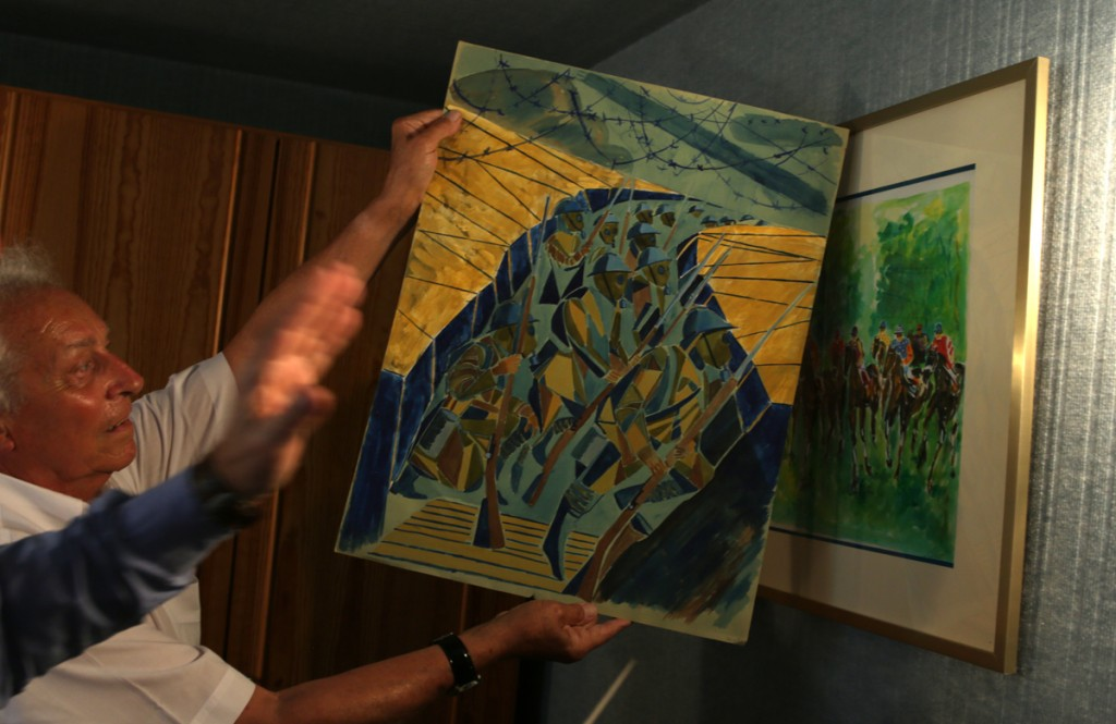 Jean-Claude Picot showing older work