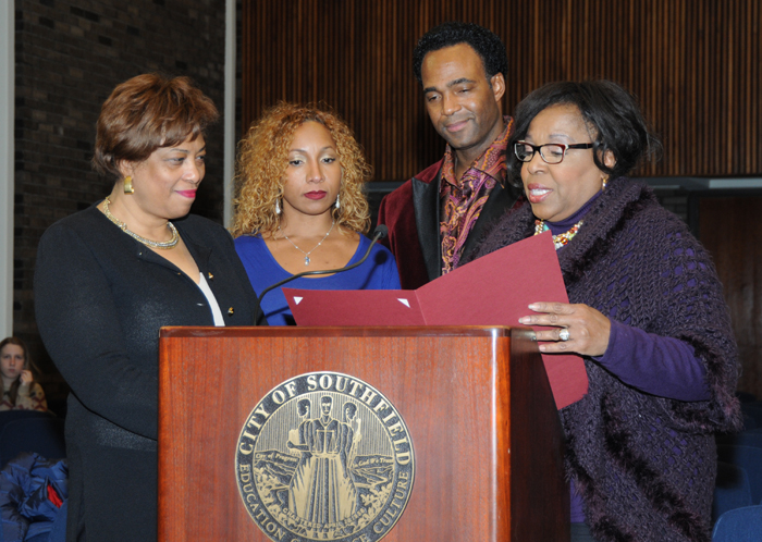 City of Southfield honors Marcus Glenn