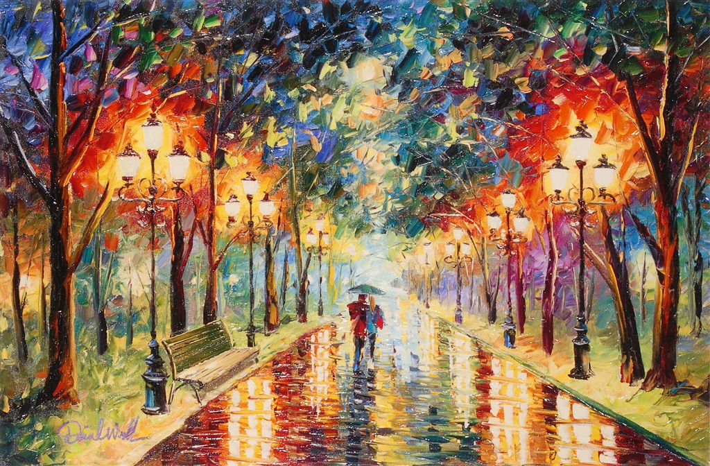 Romantic Paintings Colorful