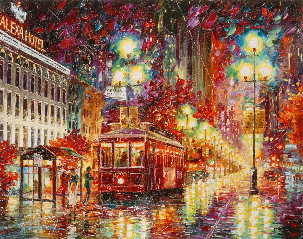"""New Orleans Cable Car"" (2016), Daniel Wall"