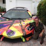 Duaiv Lamborghini car