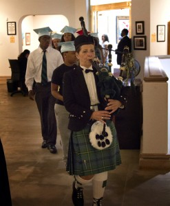 Bagpiper - PWF Graducation Park West Gallery