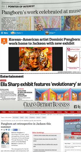 Pangborn Press for Ella Sharp Museum Exhibit