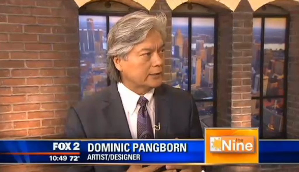 Dominic Pangborn on Fox 2 News