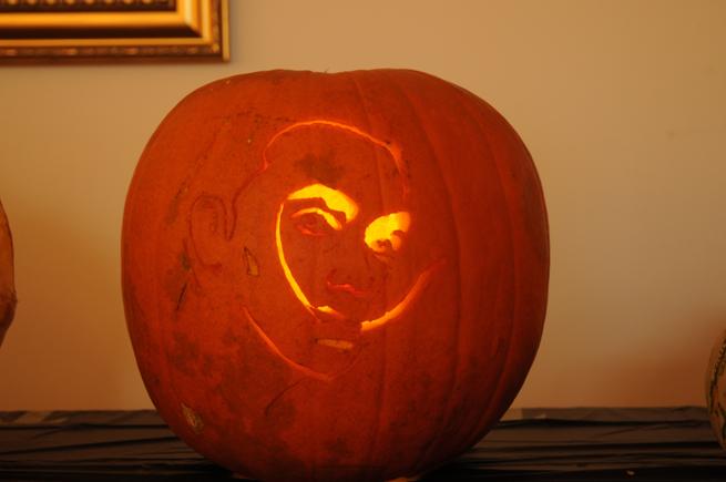 Salvador Dali Pumpkin