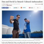 LEBO named cultural ambassador in Miami New Times, People 2014