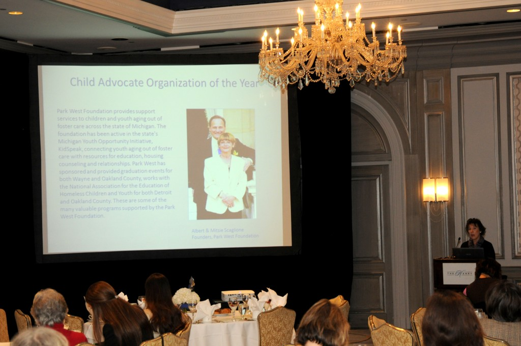 Park West Foundation awarded Child Advocate of the Year Award