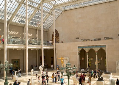 The Charles Engelhard Court at the Met. Photo credit: Phil Roeeder