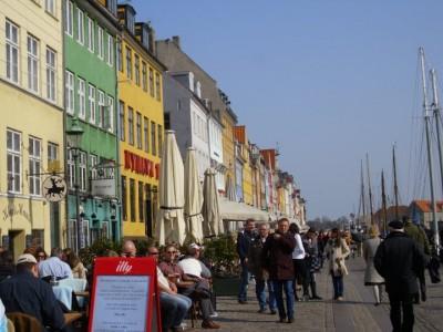 The historic waterfront, Nyhavn, in Copenhagen, Denmark. Photo credit: Michelle Vetovitz
