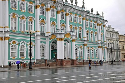 The State Hermitage Museum in St. Petersburg. Photo Credit: Dennis Jarvis