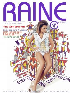 Park West Gallery founder and CEO Albert Scaglione is featured in the art edition of Raine magazine