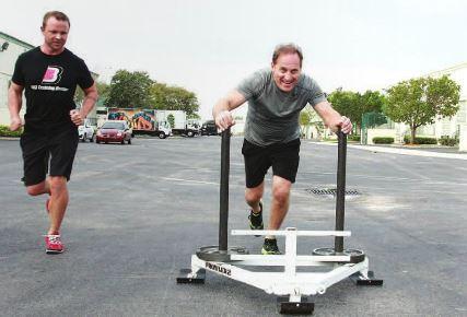 Albert Scaglione fitness