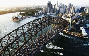 Sydney Harbour Bridge, photo courtesy of telegraph.co.uk