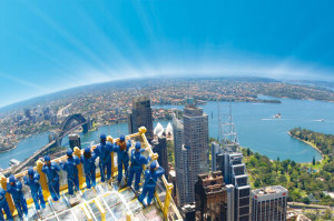 Skywalk at Sydney Tower, photo courtesy of www.lonelyplanet.com