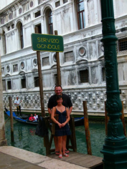 John and Yuri in their favorite country and where they fell in love, Italy. Photo credit: John Block