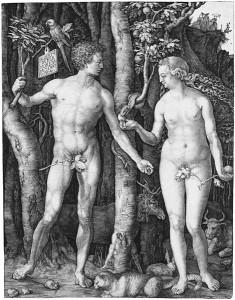 Adam and Eve Albrecht Durer