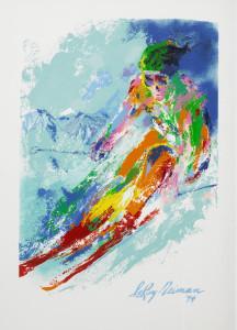 World Class Skier by Leroy Neiman