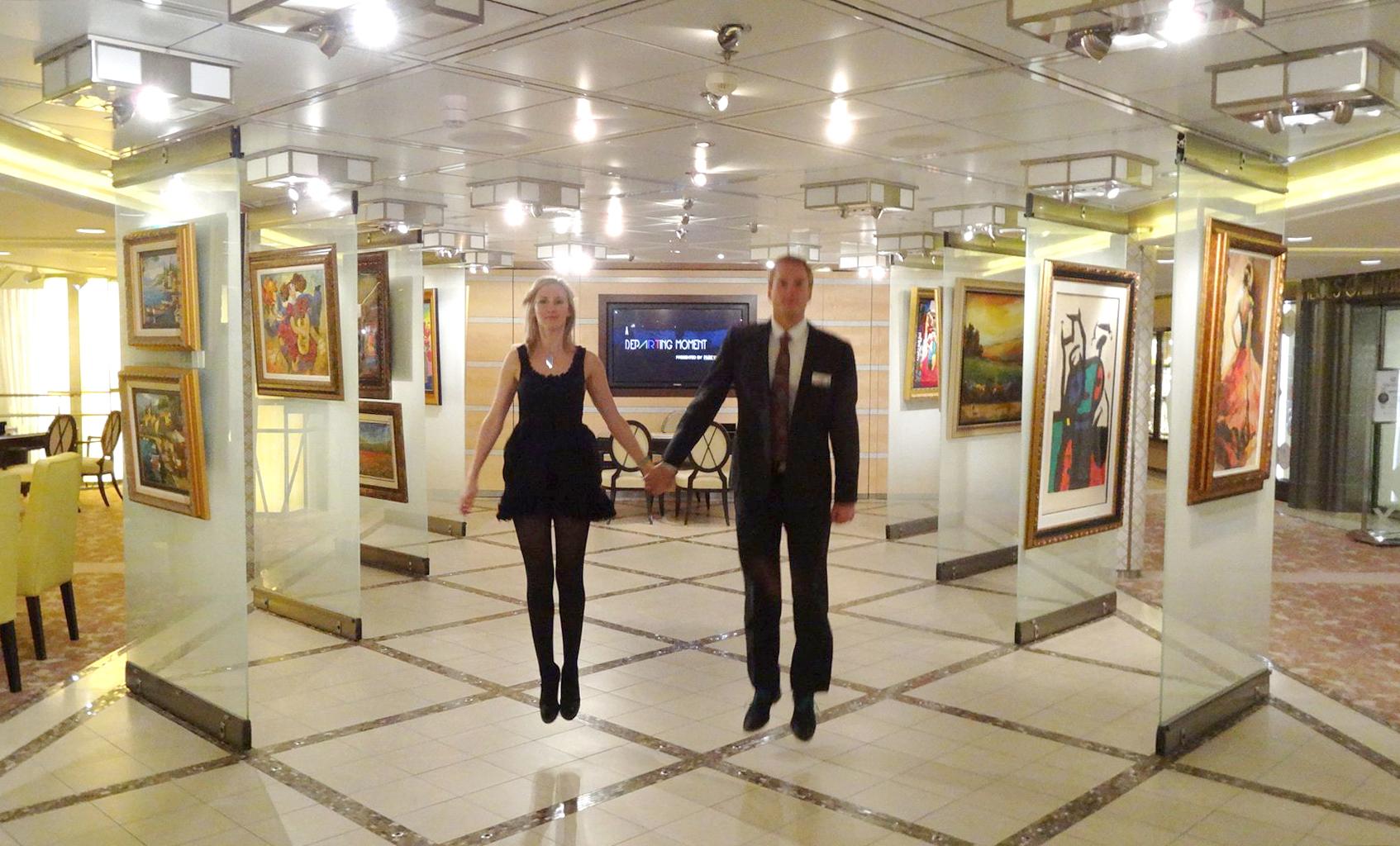 These industrious art auctioneers aren't afraid to show off their fun-loving side. Photo credit: Jeanne van der Merwe