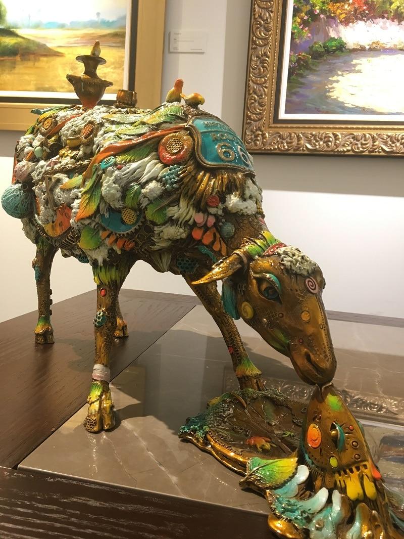 """Alberta"" (2009) by Nano Lopez, sculptures"