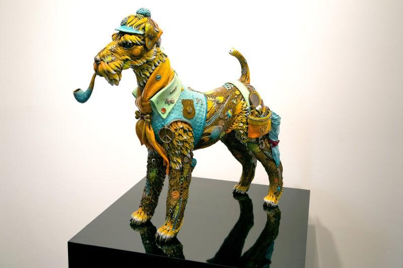 """Sherlock"" (2010) by Nano Lopez, sculpture"