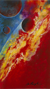 Park West Gallery Red Sun Dominic Pangborn