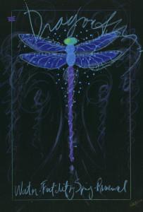 """""""Dragonfly Black"""" (2014), Time Yanke"""
