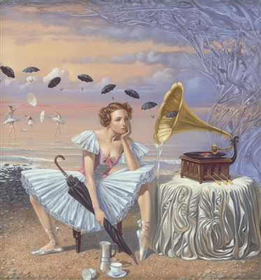 """Melody of Rain"" Michael Cheval Park West Gallery"