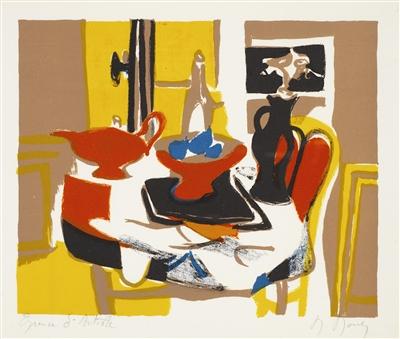 """""""Theiere et compotier"""" (1975), Marcel Mouly"""