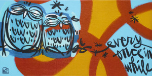 Lebo art owl Park West Gallery