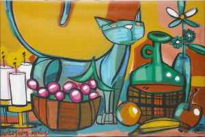 Lebo art cats Park West Gallery