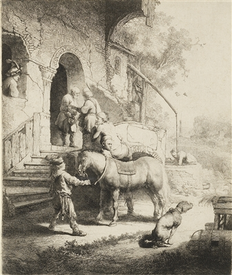 """The Good Samaritan"" (1633), Rembrandt van Rijn"
