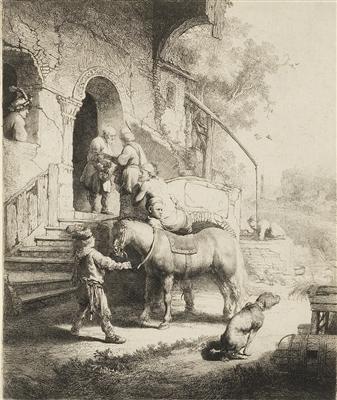 """""""The Good Samaritan"""" (1633), Rembrandt van Rijn"""