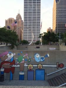 Lebo Hart Plaza Detroit
