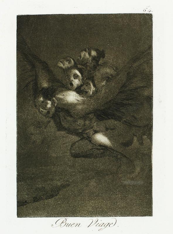"""""""Bon Voyage"""" (c. 1799), Francisco Goya"""